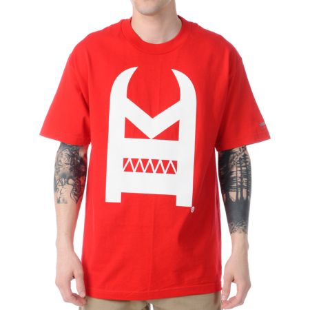 IMKing Oscar Red Short Sleeve Tee Shirt