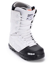 Thirtytwo Lashed White & Black Snowboard Boots 2013