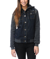 Glamour Kills The Wiz Kid Hooded Jean Vest Jacket