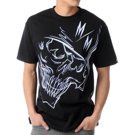Metal Mulisha Two Some Black Tee Shirt