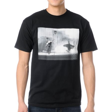 DC Shoes Trespassing Black Tee Shirt