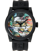 LRG Icon Elvis Art Series Black Analog Watch