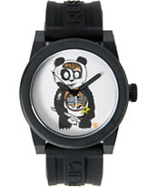 LRG Icon Bear Art Series Black Analog Watch
