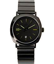 LRG Portal Black Analog Watch