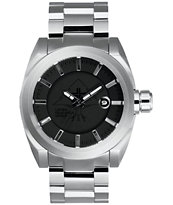 LRG Force Silver & Black Analog Watch
