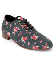 Obey x Generic Surplus Dury Floral Canvas Girls Shoe