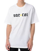 Nor Cal Medieval White Tee Shirt