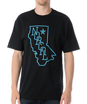 Nor Cal Rookie Black Tee Shirt