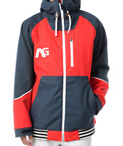 Analog Greed Infared & Blue 10K Snowboard Jacket 2013