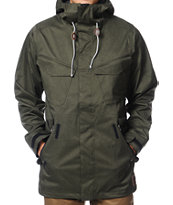 Analog Wasteland 2013 Black 10K Snowboard Jacket