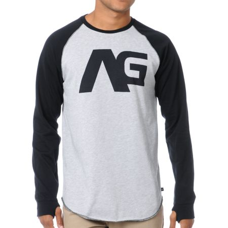 Analog Agonize ATF Long Sleeve Baseball Shirt