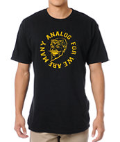 Analog Legion Black Tee Shirt