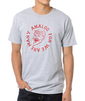 Analog Legion Grey Tee Shirt
