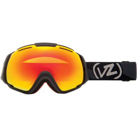 Von Zipper El Kabong Black/Fire Chrome Snowboard Goggle 2013