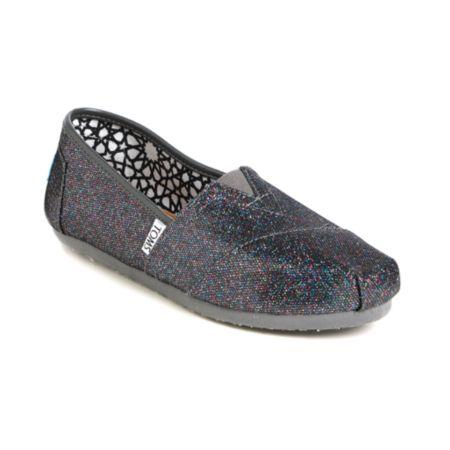 44ab2a4a2a6d cobadaritadi1: Toms Classics Multi Glitter Girls Shoe Zumiez