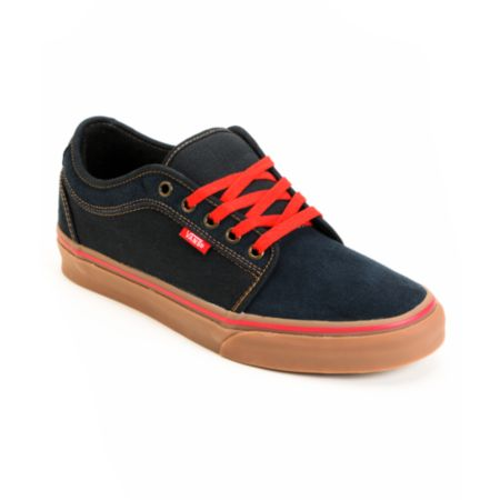 Vans Chukka Low Navy & Gum Skate Shoe