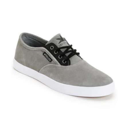 Dekline Daily Grey Suede & Black Shoe