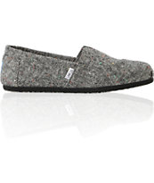 Toms Classics Black Holden Wool Guys Shoe