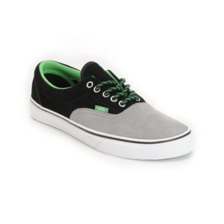 Vans Era Wild Dove & Poison Green Skate Shoe