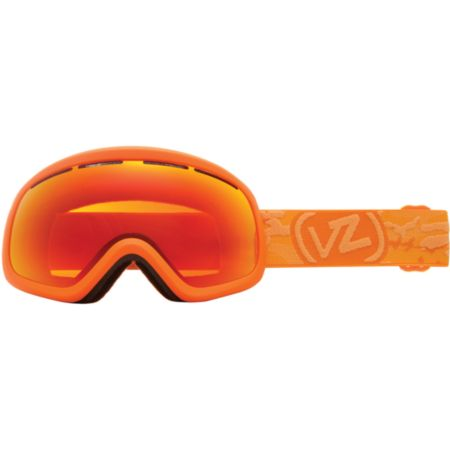Von Zipper Skylab Orange & Fire Chrome Snowboard Goggles 2013