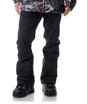 Volcom Emmet 5K Tight Black Snowboard Pants 2013
