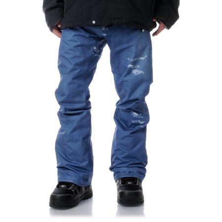 Volcom Emmet 5K Tight Blue Jean Snowboard Pants 2013