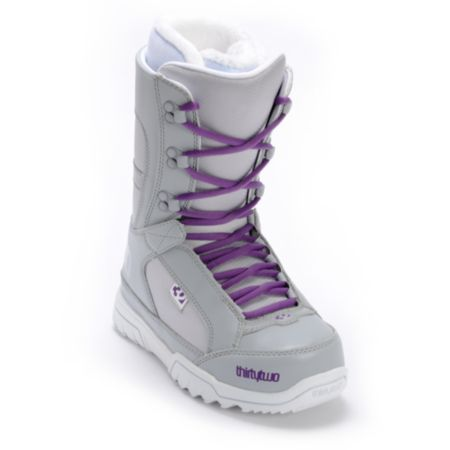 Thirtytwo Girls Summit Grey 2013 Snowboard Boot