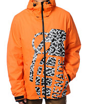Grenade Exploiter 2013 Orange 10K Snowboard Jacket