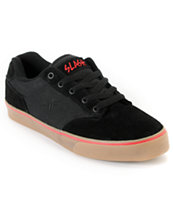 Fallen Slash Black & Red Skate Shoe