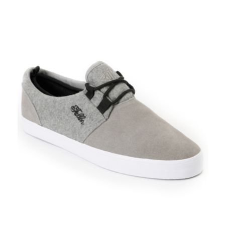Fallen Capital Grey Skate Shoe