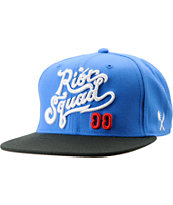 Us Versus Them Riot Squad Blue & Black Snapback