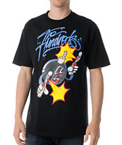 The Hundreds x The Seventh Letter Adam Rime Black Tee Shirt