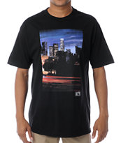 The Hundreds x The Seventh Letter Downtown Saber Black Tee Shirt