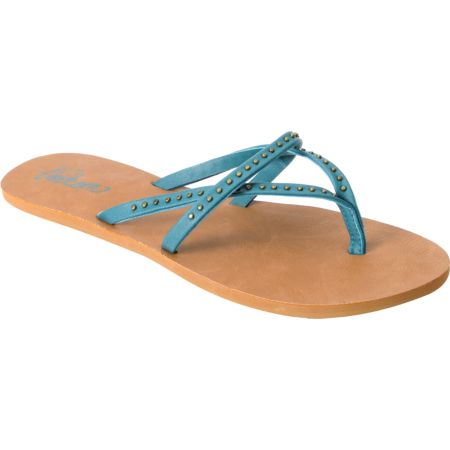 Volcom Girls All Day Long Turquoise Creedler Sandals