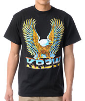 KR3W Wingspan Black Tee Shirt