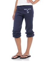 Obey MFG Anchor Navy Blue Sweatpants