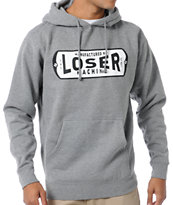 Loser Machine Locker Heather Grey Pullover Hoodie