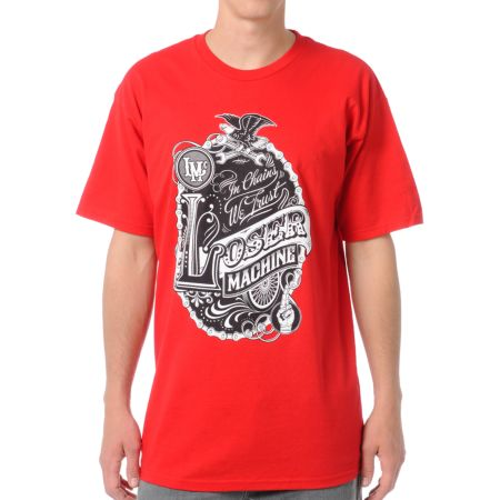 Loser Machine Big Top Red Tee Shirt