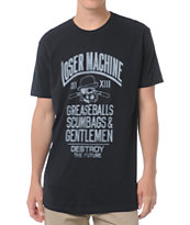 Loser Machine Gents Black Premium Tee Shirt