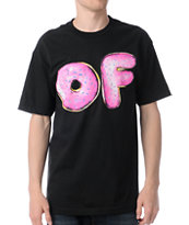 Odd Future Pink Sprinkles Black Tee Shirt