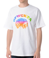 Odd Future Fat Cat Tee White Shirt