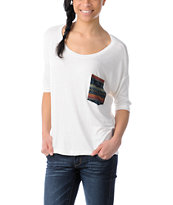 Lira Girls Mayan Natural White Top