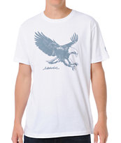 Eswic Eagle White Tee Shirt
