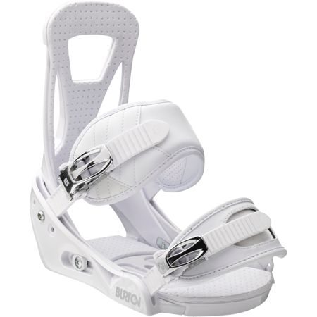 Burton Freestyle White Snowboard Bindings 2013