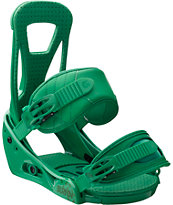 Burton Freestyle Green Snowboard Bindings 2013
