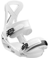 Burton Custom White Snowboard Bindings 2013