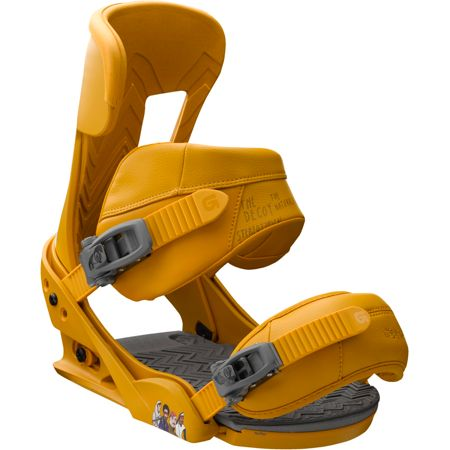 Burton Cobrashark! Yellow Snowboard Bindings 2013