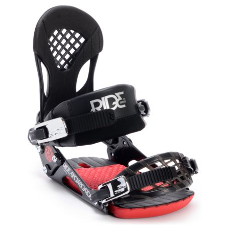 Ride EX Black Snowboard Bindings 2013
