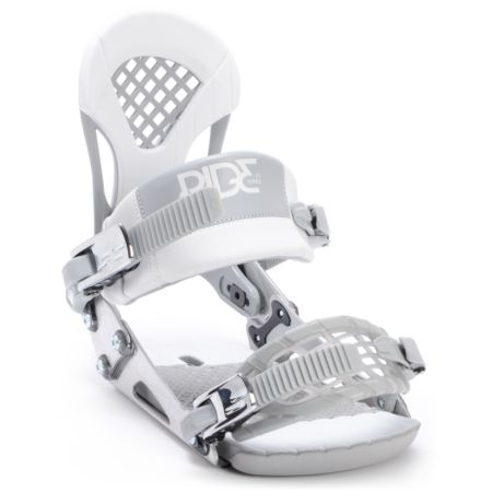 Ride EX Silver Snowboard Bindings 2013