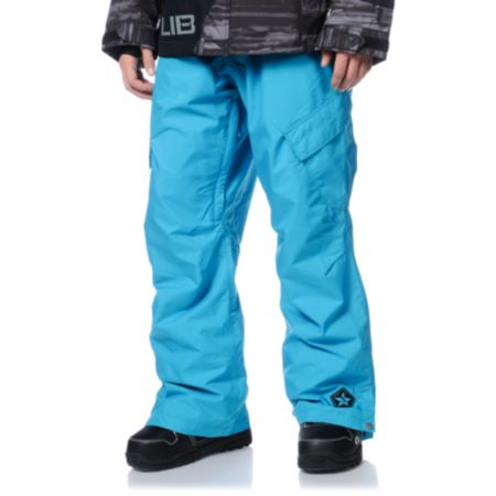 Sessions Zoom 2013 Turquoise 10K Snowboard Pants